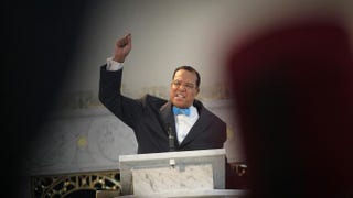 Minister Louis Farrakhan, leader of the Nation of Islam, in 2011Scott Olson/Getty Images