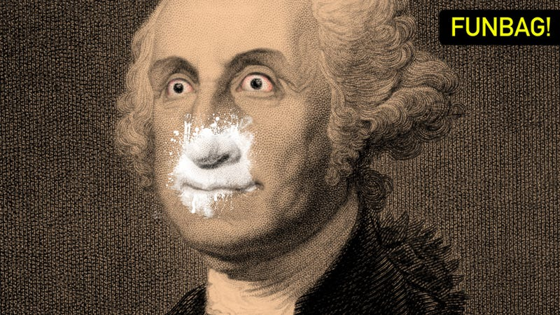 Illustration for article titled What If The President Were A Cokehead?
