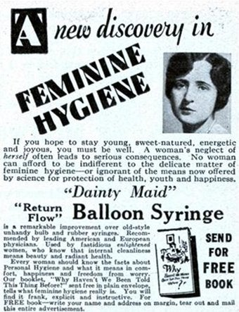 """Illustration for article titled """"Dainty Maid Balloon Syringe"""""""