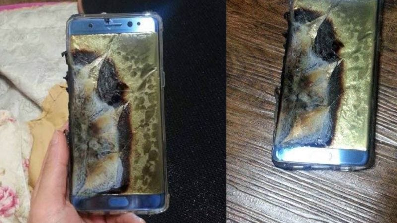 Illustration for article titled Samsung Confirms Note 7 Recall After 35 Reports of Dangerous Battery Problems