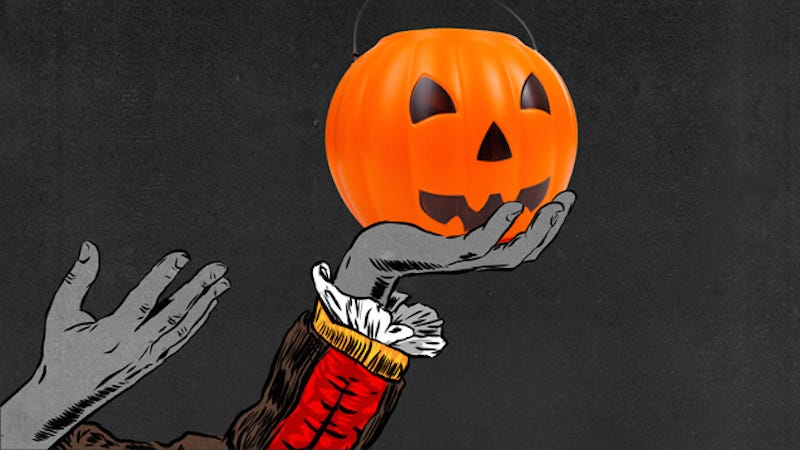 Illustration for article titled Halloween Still Smells Like a Plastic Pumpkin Pail