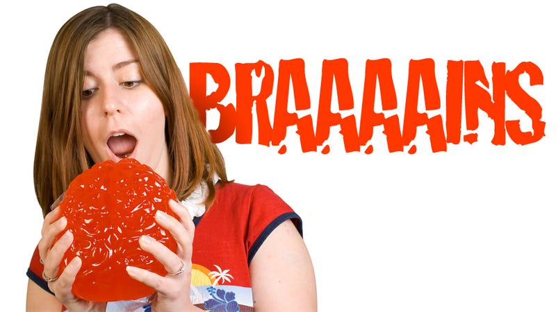 Illustration for article titled Full-Size Gummy Human Brain Will Turn You Into a Sugar Zombie
