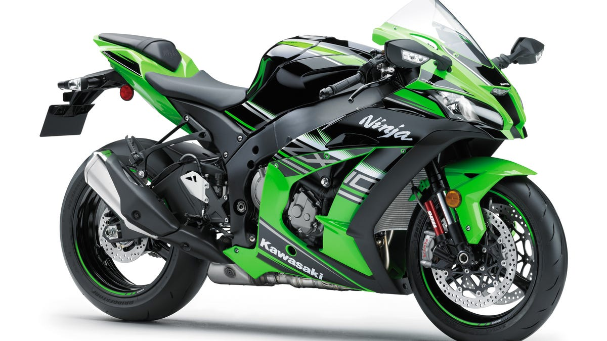The All-New 2016 Kawasaki ZX-10R Might Be The Fastest Street-Legal ...
