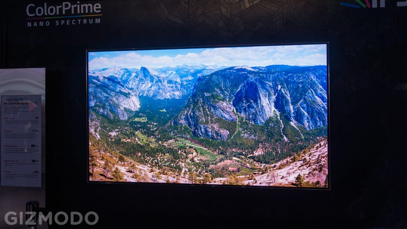 Illustration for article titled LG's Ludicrous 8K TV Is Too Insane For My Eyes To Handle