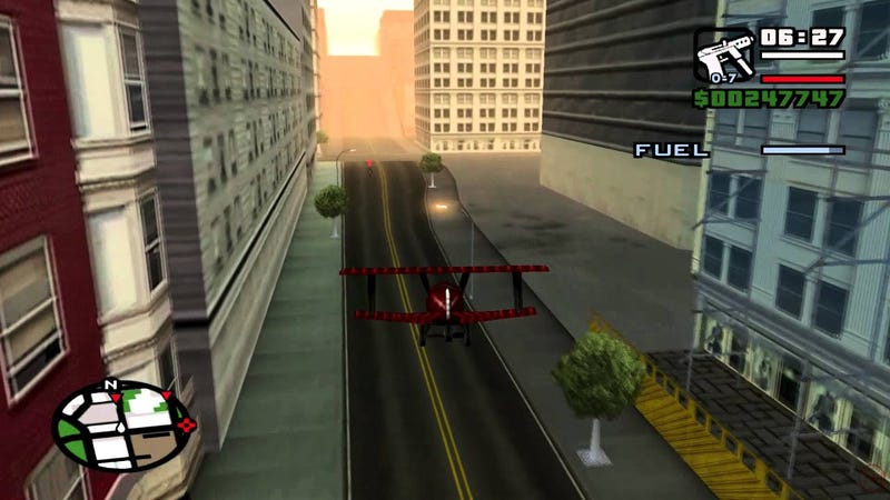 the gta san andreas mission so bad  rockstar had to fix it