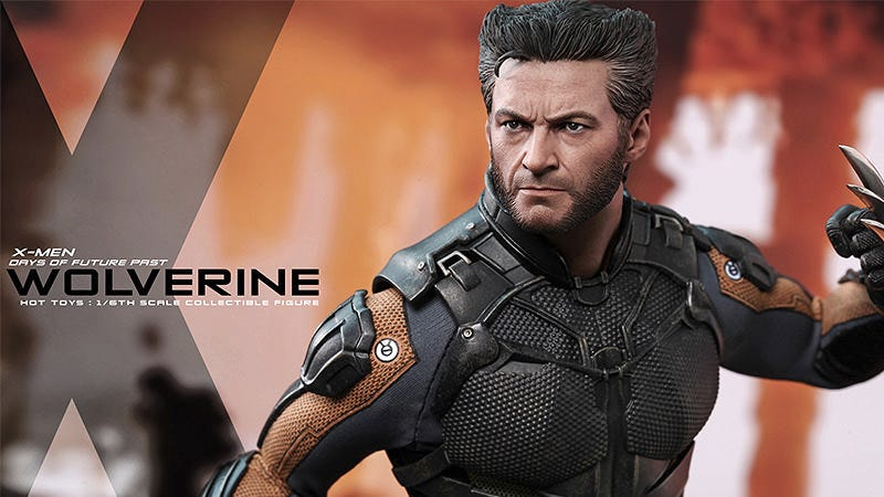 Illustration for article titled Hot Toys' Wolverine Figure Definitely Counts As a Celebrity Encounter