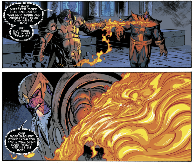 Donny Cates brings the thunder on Doctor Strange and Thanos