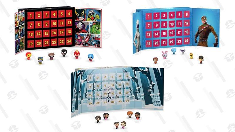Funko Marvel 80th Anniversary | $40 | AmazonFunko Harry Potter Advent Calendar | $39 | AmazonFunko Fornite Advent Calendar | $40 | Amazon