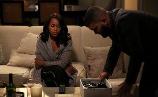 Don't worry, Olivia (Kerry Washington); Huck's (Guillermo Díaz) got your back.John Fleenor/ABC