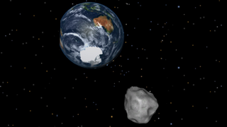 Illustration for article titled Everything You Need to Know About Earth's Close Shave With an Asteroid