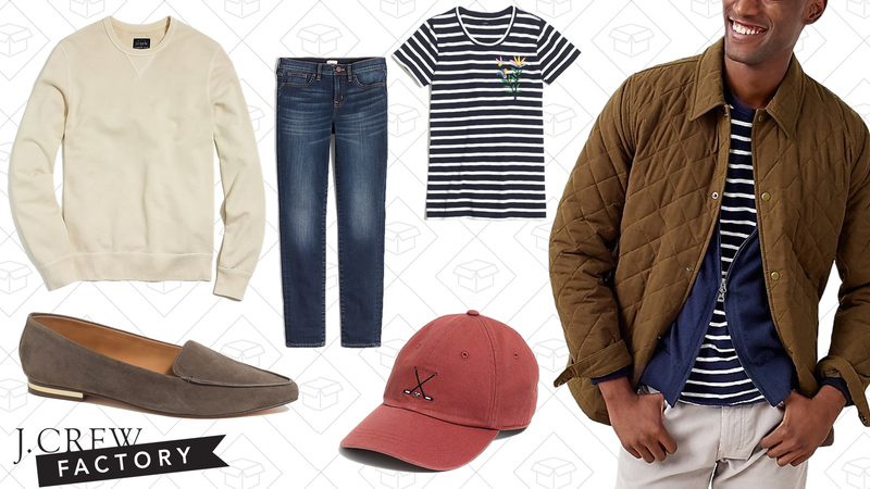 Extra 40% off clearance | J.Crew Factory | Use code EXTRAFUN