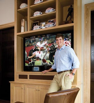Illustration for article titled Eli Manning's House Is Fully Automated; Kind Of Lame