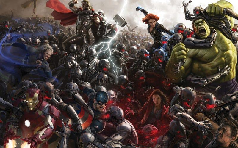 Illustration for article titled Confirmados dos personajes más para Los Vengadores: la era de Ultron