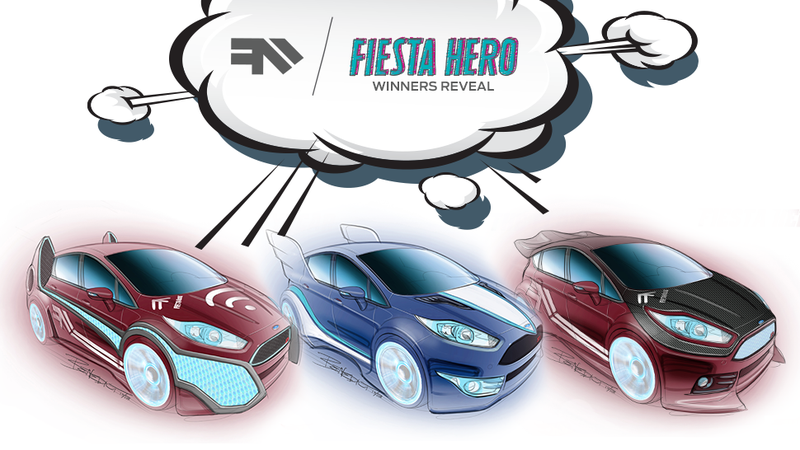 Illustration for article titled Hot Wheels designer gives the superhero treatment to the Ford Fiesta