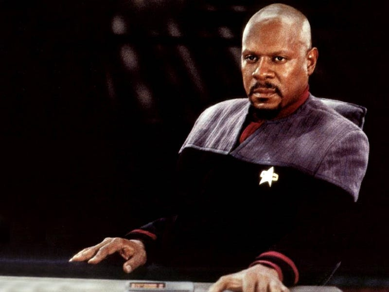 Illustration for article titled Star Trek: Deep Space Nine was literally darker than TNG