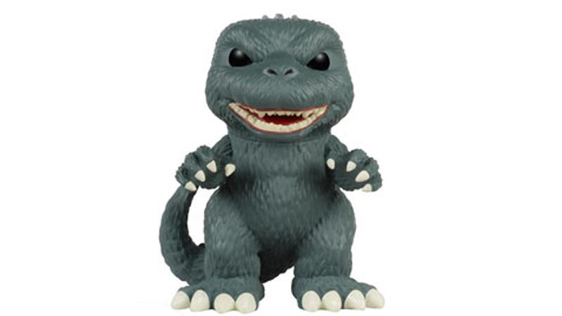 Illustration for article titled Godzilla Is Now The King Of Funko Pops, As Well As Kaiju