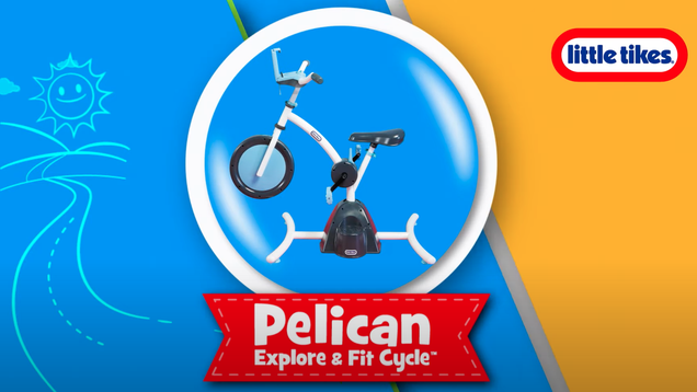 Little Tikes Is Roasting Parents With a  Peloton  for Kids