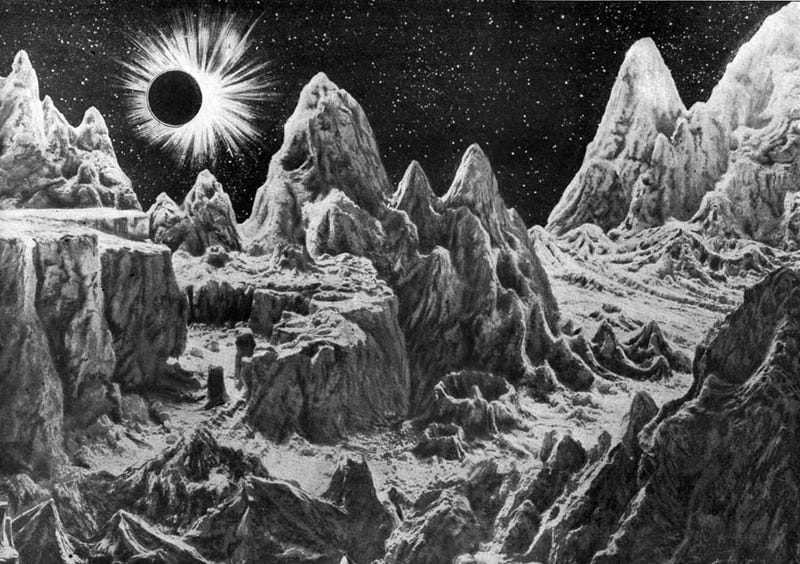 Illustration for article titled The Forgotten Space Art Pioneer