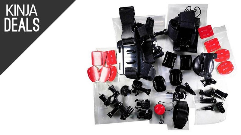 Illustration for article titled Add 33 GoPro Accessories To YourRepertoireFor $15