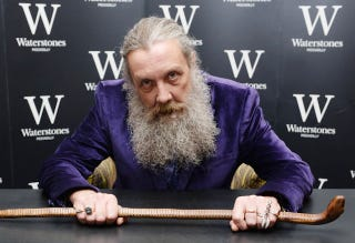 Illustration for article titled Alan Moore wants superhero comics to get off his lawn, more or less