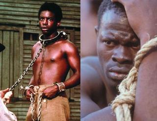 LeVar Burton in Roots (IMDB.com); Djimon Hounsou in Amistad (IMDB.com)