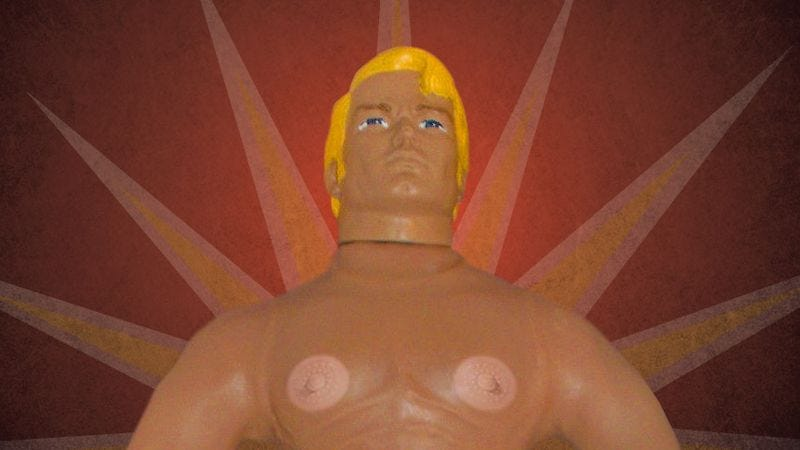 Illustration for article titled Stretch Armstrong Is Coming Back! And This Time With Nipples!