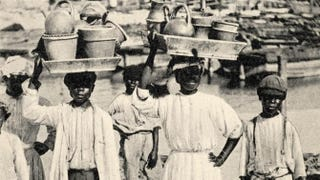 Bajan pottery vendors in 1910Popperfoto/Getty Images