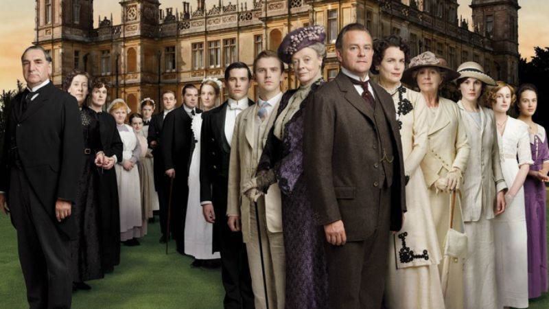 Illustration for article titled Downton Abbey earns Guinness World Record for being awesome