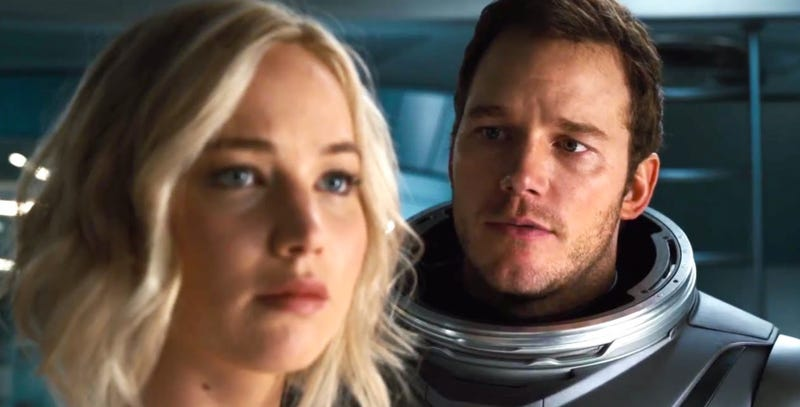 Illustration for article titled The Writer and Director of Passengers Address the Film's Controversial Plot Point