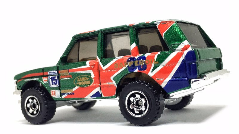 Hot Wheels Range Rover with Wheel Swap