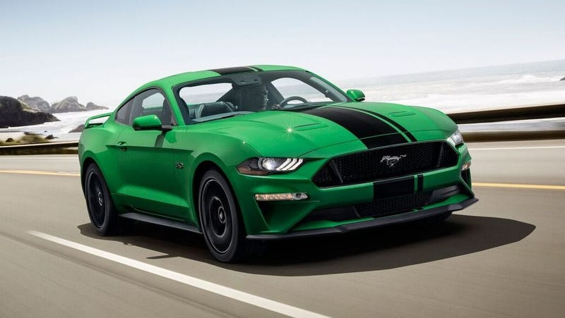Illustration for article titled The Ford Mustang Cements 2018 As The Year Of The Green Comeback