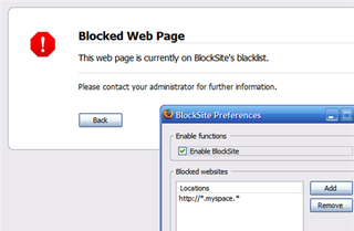 Illustration for article titled Download of the Day: BlockSite