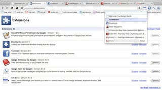 Illustration for article titled Chrome for Mac Beta Now Infinitely Better With Extensions and Bookmark Syncing