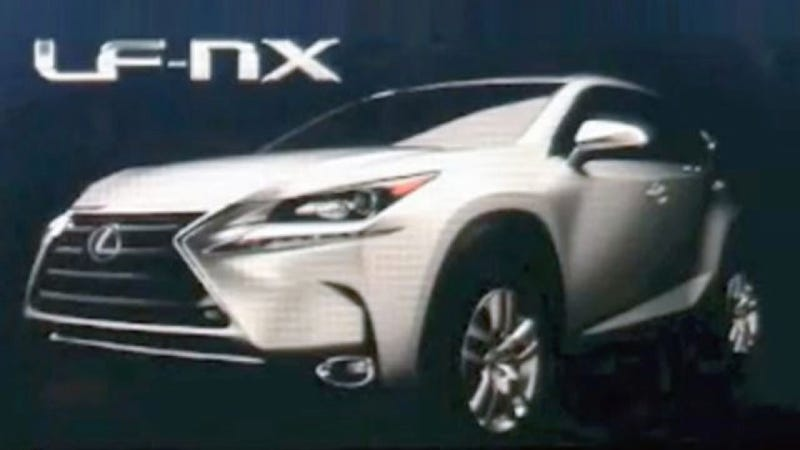 Illustration for article titled 2015 Lexus NX: This Is It