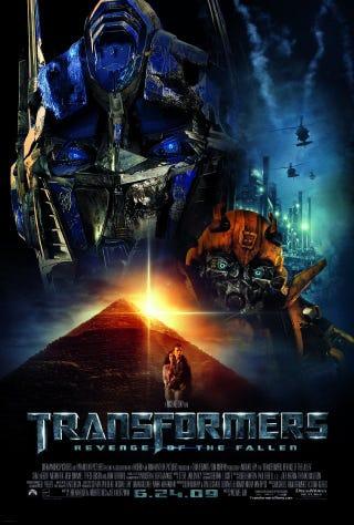 Illustration for article titled Transformers 2 = NEM DOGMA