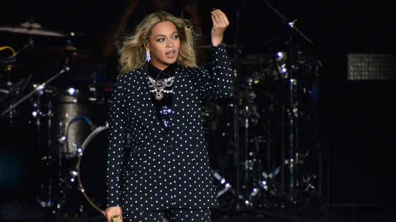Beyonce performs on stage during a Get Out The Vote concert in support of Hillary Clinton on November 4, 2016 in Cleveland, Ohio.