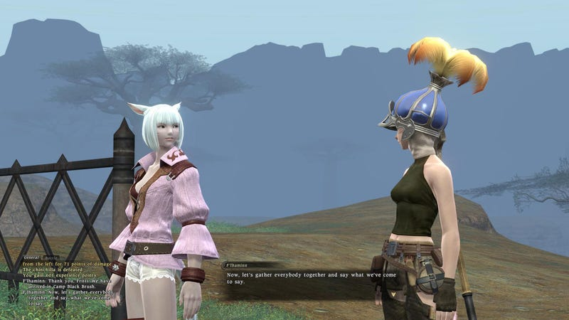 Illustration for article titled Final Fantasy XIV MMO Log One: What's My Motivation?