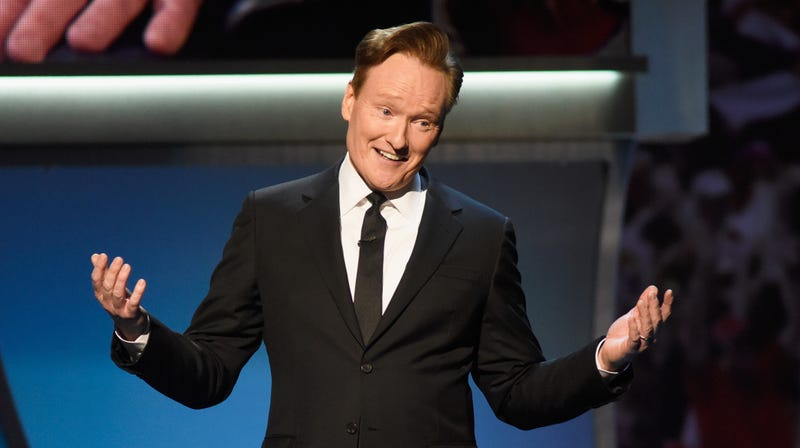Illustration for article titled Conan O'Brien announces first standup comedy tour in 8 years
