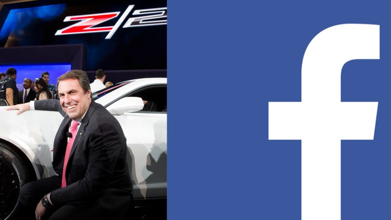 Illustration for article titled GM Exec Disappears From Facebook After Firing Back At News Story