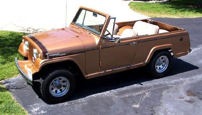 1969 Jeepster Commando For 15 000