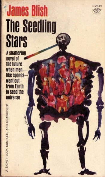 Illustration for article titled Box Of Paperbacks Book Club: The Seedling Stars by James Blish (1957)