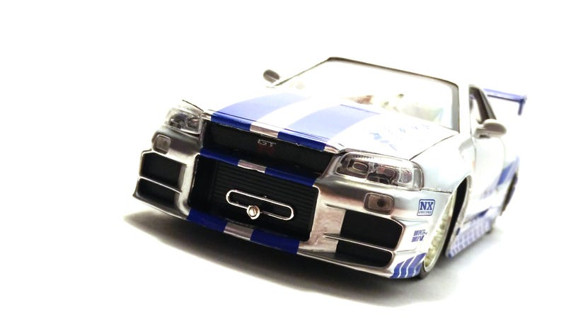 Illustration for article titled F&F Friday: A 1/24 Nissan Skyline GT-R R34 by Jada