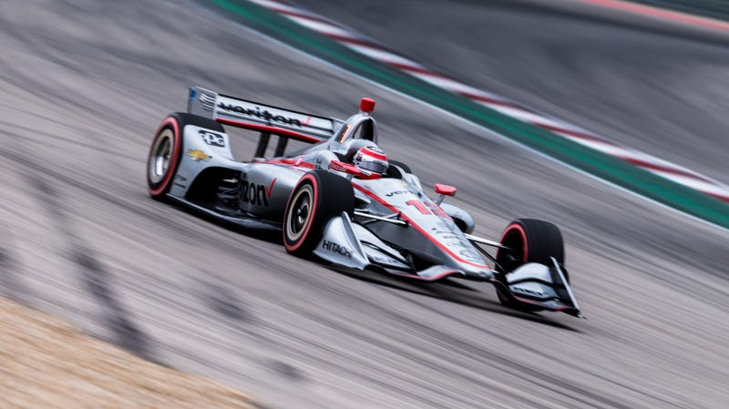 Illustration for article titled Will Power Becomes First-Ever Pole Sitter for IndyCar at Circuit of The Americas