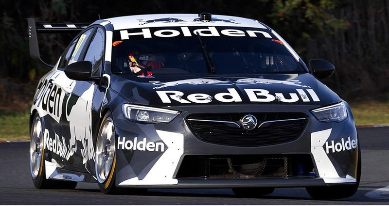 Illustration for article titled night oppo - new Holden Commodore race car