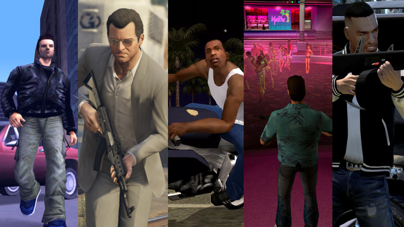 Illustration for article titled Ranking The Grand Theft Auto Games, From Worst To Best