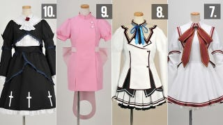 Illustration for article titled Japan's Biggest Selling Cosplay Costumes of 2011 Were...