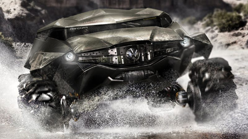 Illustration for article titled Introducing the 2035 ZAIRE all-terrain concept car