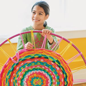Illustration for article titled Create A Hula Hoop Rug