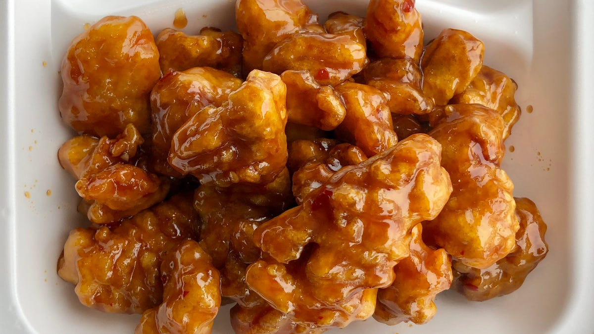 Panda Express' orange chicken remains the pinnacle of junky