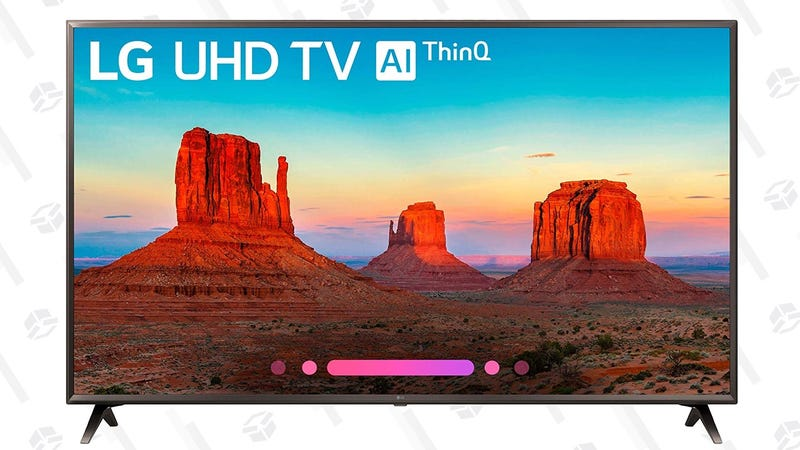 "LG 65"" 4K HDR TV 